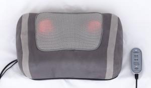 Shiatsu Kissen Shiatsu Massagekissen für kraftvolle Massage mit rotierenden Massageköpfen, Rotlicht- und Wärmefunktion und Fernbedienung