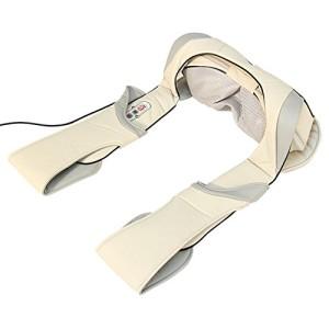 Shiatsu Nackenmassagegerät Multifunktionales Massagegerät für Nacken, Schulter, Rücken mit Infrarot-Wärmefunktion fürs Auto und Zuhause