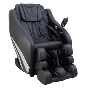 Shiatsu Sessel Markteinführungspreis - Multifunktions-Massagesessel, Massagestuhl schwarz mit Shiatsu Massage