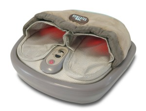 Shiatsu Fußmassagegerät HoMedics Gel Shiatsu und Thai Air Fußmassagegerät mit Wärmefunktion