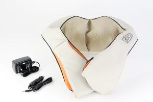 Shiatsu Nackenmassagegerät Medivon KFZ Massagegerät Massage Shiatsu Knetmassage für Schultern und Nacken für Zuhause und Auto Neu