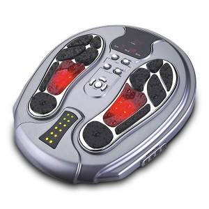 Shiatsu Fußmassagegerät Powerfly Blutzirkulation Fußmassagegerät Fußreflexzonen Massagegerät mit Infrarot Wärmefunktion